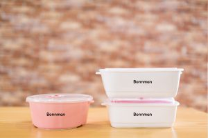 Hộp đựng cơm Bonnman được làm từ loại nhựa gì?